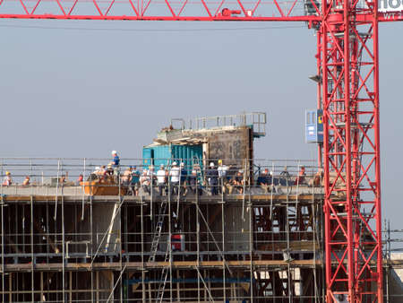deatil: deatil of a construction site
