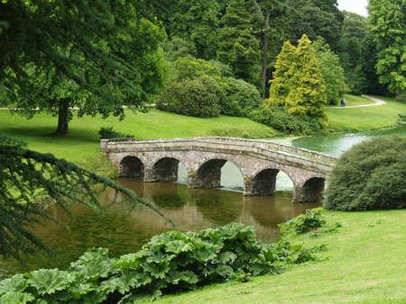 landscape garden: Stourehead landscape garden in the UK
