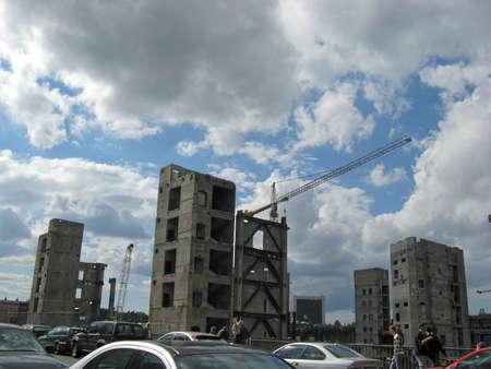demolition in Berlin photo