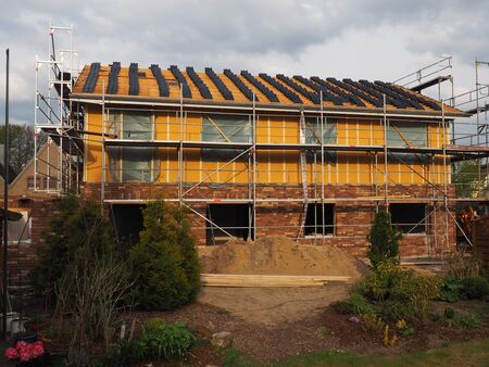 clinker tile: Stock up a new house roof