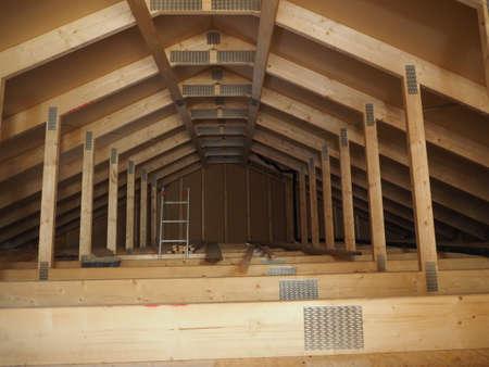 rafter: Roof Interior
