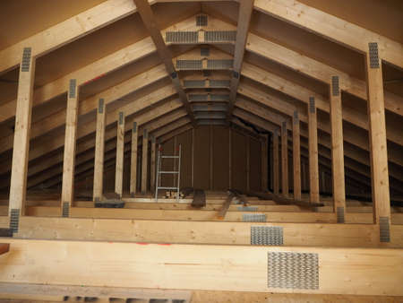 rafter: Roof view
