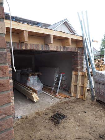 garage: Garage construction