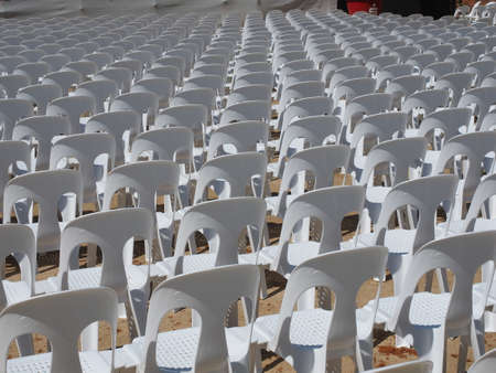 chairs: chairs in a row
