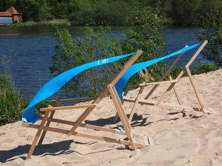 deckchair: deckchair