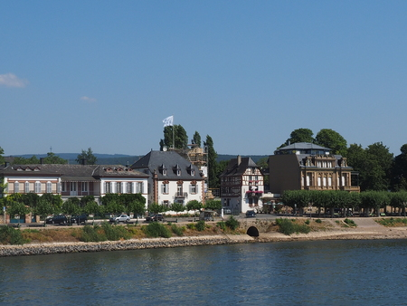 Skyline of eltville