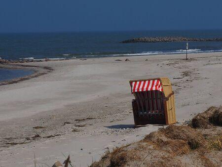 Coast with beach shards