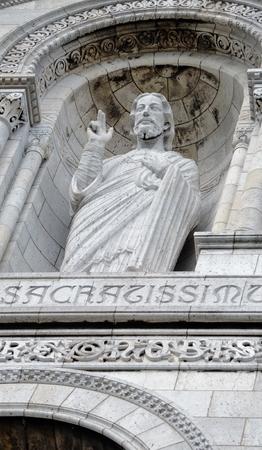 exemplary: Jesus statue Stock Photo