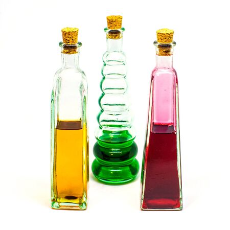 Potion Bottles in Different Colors