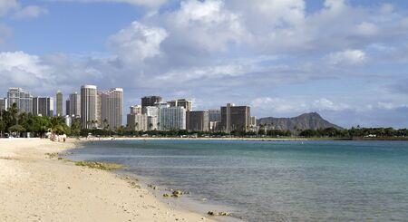 honolulu: Waikiki beach, Oahu