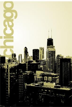 windy city: Chicago - alternative skyline