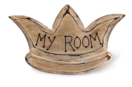 Crown on White