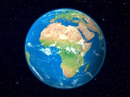 Föld Model from Space: Africa megtekintése