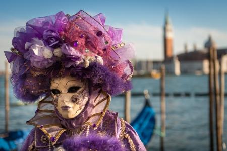 carnival in venice: Carnival Mask in Venice