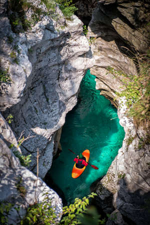 Kayak adventure in the Canyon