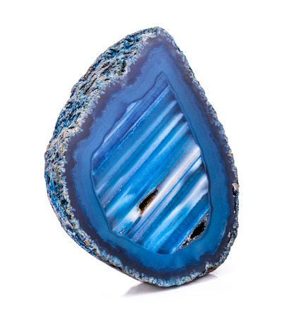 agate: Agate crystal geode