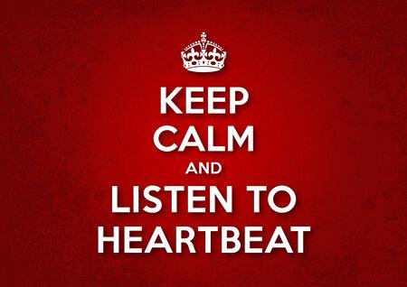 Őrizze meg nyugalmát, és hallgatni Szívdobbanás