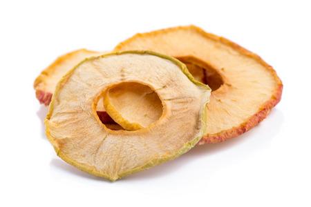 Dried Apple fruit Standard-Bild