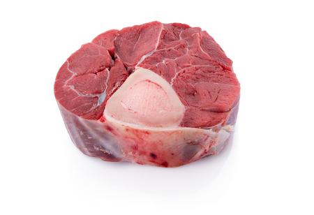 Sliced beef shank