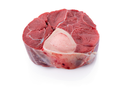 Sliced beef shank