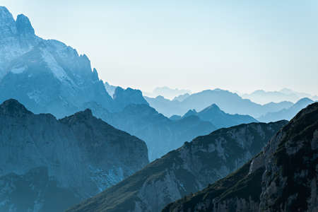 julian: Sunset view in the Julian Alps