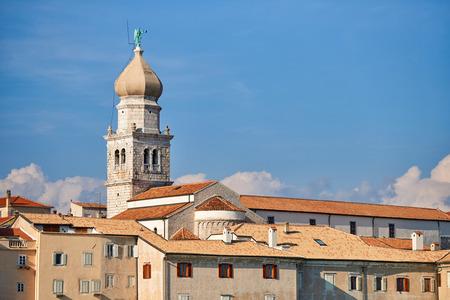 Old town Krk, Mediterranean, Croatia, Europe