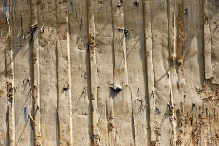 Close up of Earth pattern, vertical lines