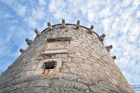 Frankopan Castle tower, Krk, Croatia