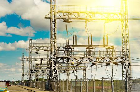 dnepr: Hydroelectric power station, the river Dnepr, Dneprodzerzhinsk, Ukraine