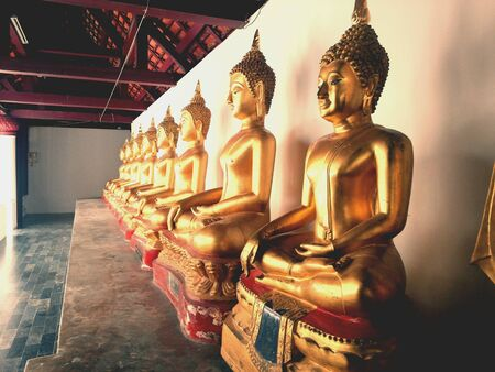 gold: Gold Buddha in ancient