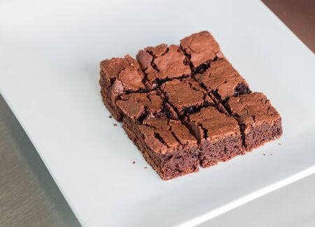 fancy cakes: sweet brownies or chocolate fancy cakes