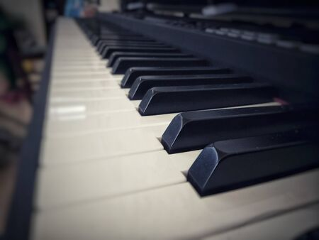 Piano is used to play music.
