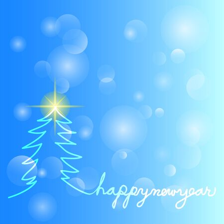merry christmas and happy new year background,vector illustrations