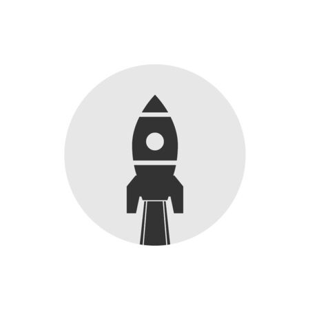solid icons for startup,vector illustrations
