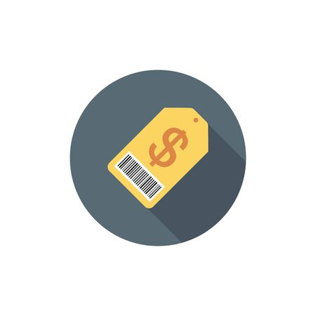 flat icons for price tag,vector illustrations Ilustracja