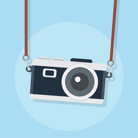 flat icons for camera,vector illustrations Vetores