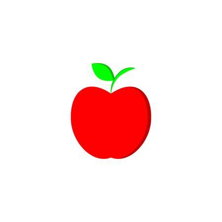 flat icons for apple,vector illustrations Ilustração