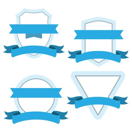 flat icons for badge design,vector illustrations