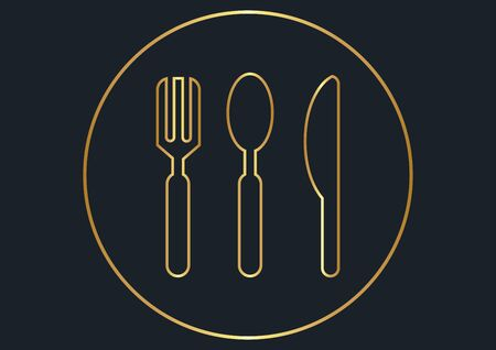 abstract background for Knife, fork and spoon tools,vector illustrations