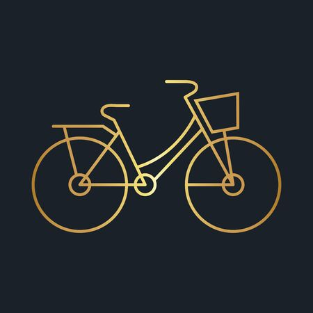 abstract background for bicycle,Gold color,vector illustrations