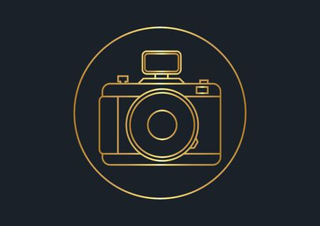 abstract background for camera,vector illustrations