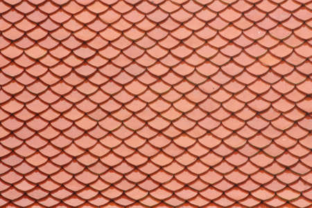 Close up  detail of roof tiles texture photo