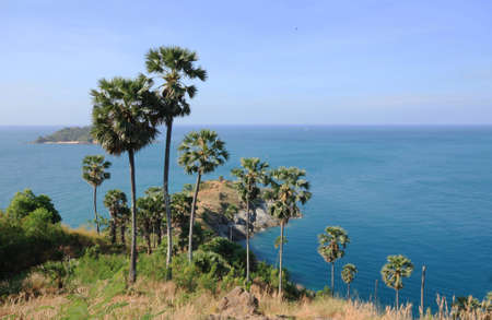 thep: Seascape image at Phrom Thep Cape,Thailand