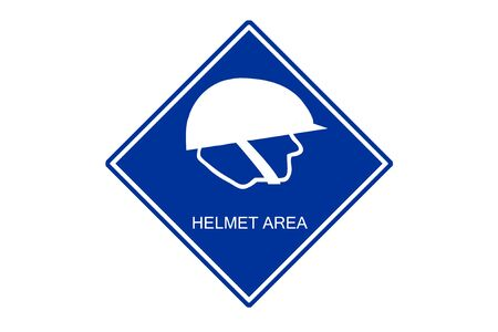 at sign: Safety sign