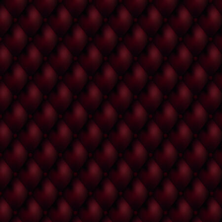 Luxury seamless red leather background Stock Vector - 8712035