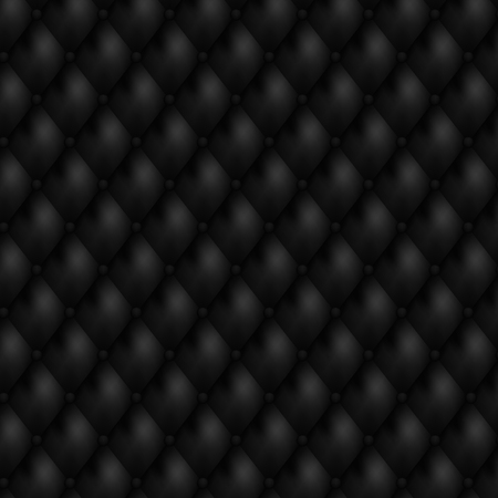 Luxury seamless black leather background