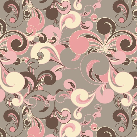 floral fabric: floral seamless background