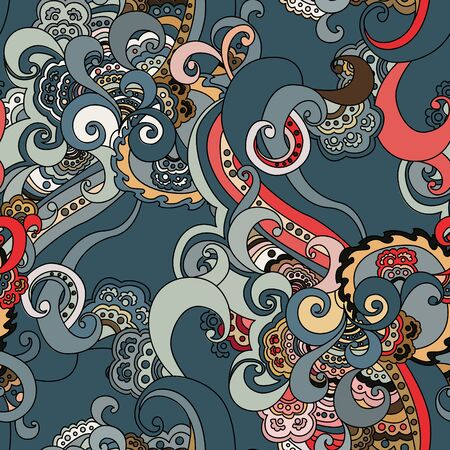 Abstract floral seamless pattern. Stock Vector - 13625657