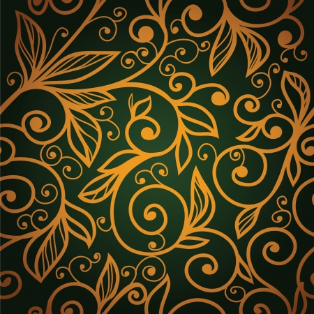 floral swirls: excellent seamless floral background.