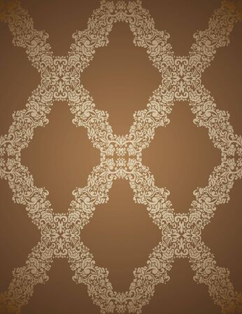 Seamless Damask wallpaper  Stock Vector - 13625615